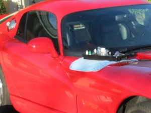 Dodge Viper Windshield Repair Delta Resin